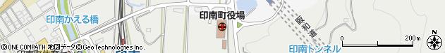 和歌山県日高郡印南町周辺の地図