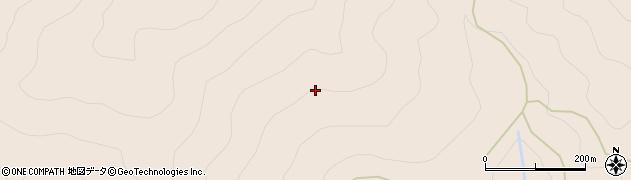 徳島県那賀郡那賀町白石堂宇久保周辺の地図