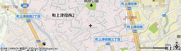 福岡県北九州市八幡西区町上津役西周辺の地図