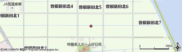 福岡県北九州市小倉南区曽根新田北周辺の地図