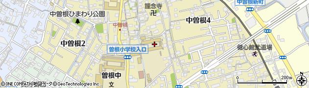 福岡県北九州市小倉南区中曽根周辺の地図