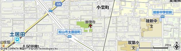 善復寺周辺の地図
