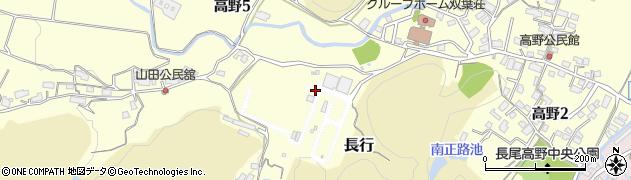福岡県北九州市小倉南区高野周辺の地図