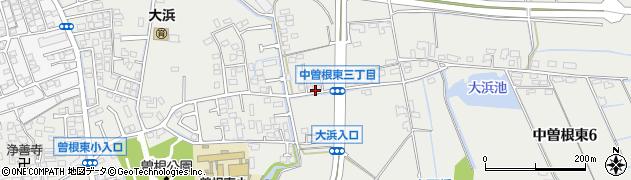 福岡県北九州市小倉南区中曽根東周辺の地図