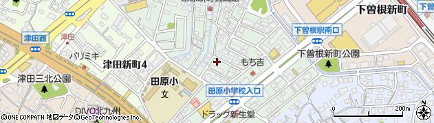 福岡県北九州市小倉南区田原新町周辺の地図