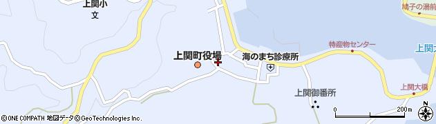 山口県熊毛郡上関町周辺の地図