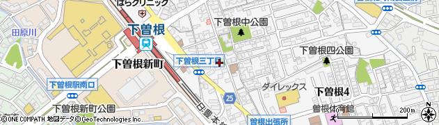 伯応寺周辺の地図