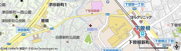 福岡県北九州市小倉南区下曽根新町周辺の地図