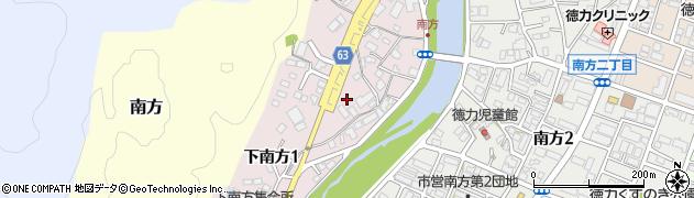 福岡県北九州市小倉南区下南方周辺の地図