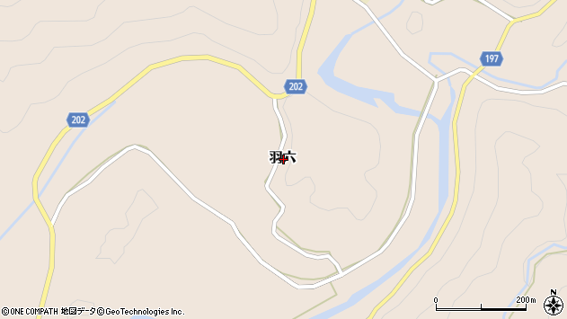 〒649-1524 和歌山県日高郡印南町羽六の地図