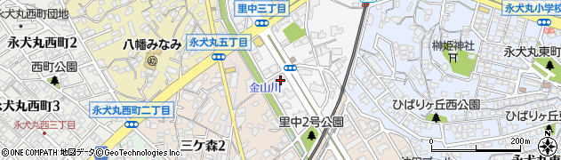 B.M.建築設計事務所周辺の地図