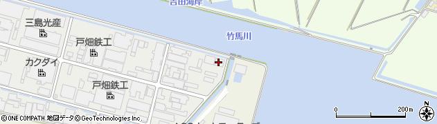 東亜金属工業株式会社 第二工場周辺の地図