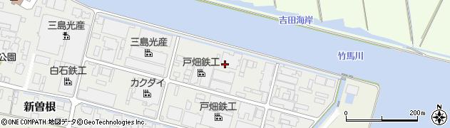 福岡県北九州市小倉南区新曽根周辺の地図