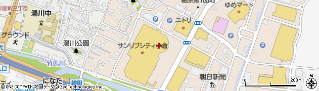 はん・印刷の大谷サンリブシティ小倉店周辺の地図