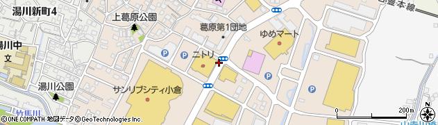 福岡県北九州市小倉南区上葛原周辺の地図