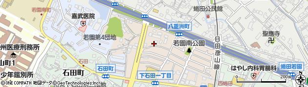 福岡県北九州市小倉南区八重洲町周辺の地図