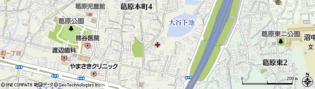 福岡県北九州市小倉南区葛原本町周辺の地図