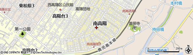 福岡県遠賀郡岡垣町南高陽周辺の地図