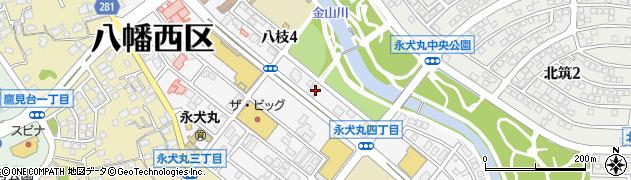 株式会社ビーアート石橋 八幡永犬丸店周辺の地図