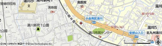 サイクルベースあさひ小倉湯川店周辺の地図