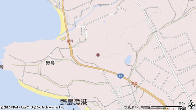 〒644-0023 和歌山県御坊市名田町野島の地図