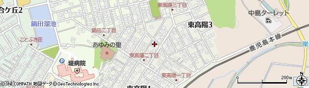 福岡県遠賀郡岡垣町東高陽周辺の地図