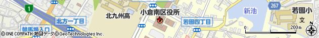 福岡県北九州市小倉南区周辺の地図