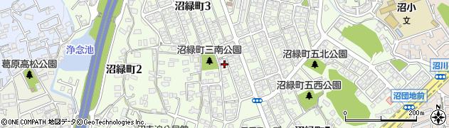福岡県北九州市小倉南区沼緑町周辺の地図