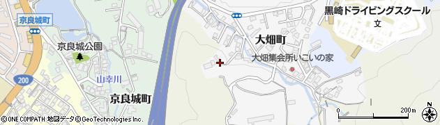 福岡県北九州市八幡西区大畑町周辺の地図