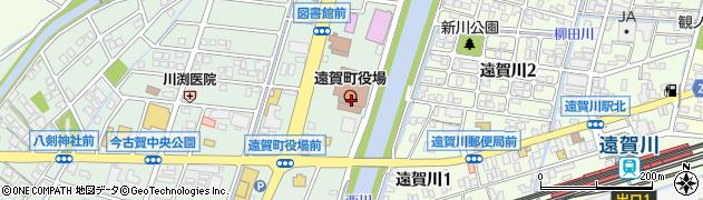 福岡県遠賀郡遠賀町周辺の地図