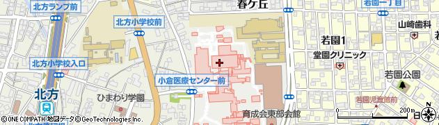 福岡県北九州市小倉南区春ケ丘周辺の地図