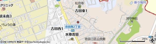 チャーム美容室周辺の地図