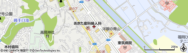 筑豊ラーメン山小屋則松店周辺の地図