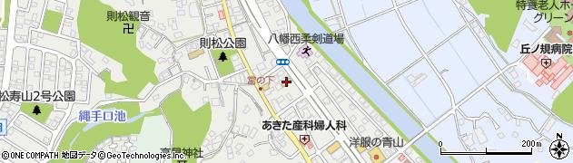 珈琲館 永犬丸店周辺の地図