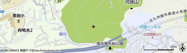 福岡県北九州市八幡西区鳴水周辺の地図