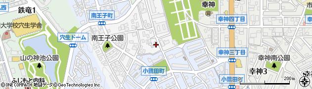 福岡県北九州市八幡西区南王子町周辺の地図