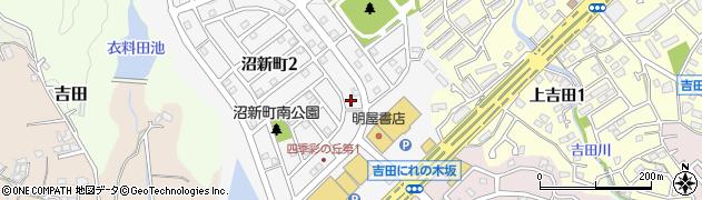 福岡県北九州市小倉南区沼新町周辺の地図