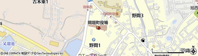 福岡県岡垣町(遠賀郡)周辺の地図