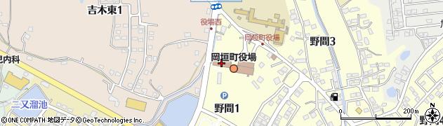 福岡県遠賀郡岡垣町周辺の地図
