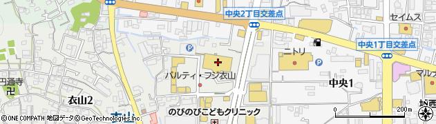 シネマサンシャイン衣山の天気 愛媛県松山市 マピオン天気予報