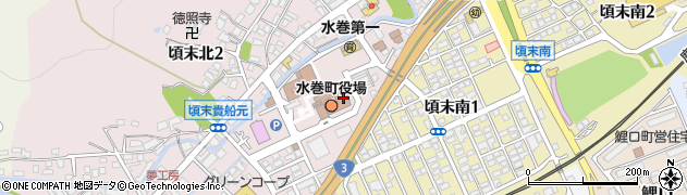 福岡県水巻町(遠賀郡)周辺の地図