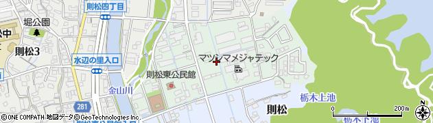 福岡県北九州市八幡西区則松東周辺の地図
