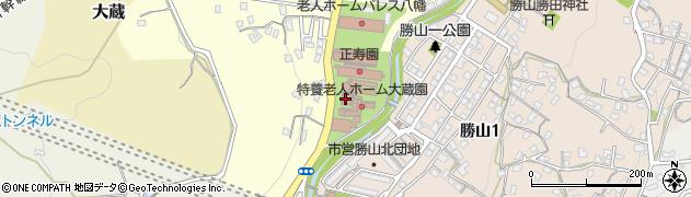 パレス八幡周辺の地図
