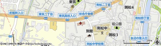 福岡県八幡総合庁舎北九州普及指導センター周辺の地図