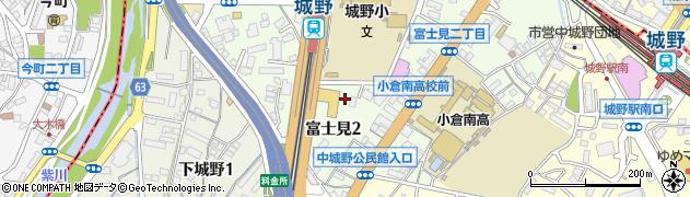 小倉薬剤師会周辺の地図
