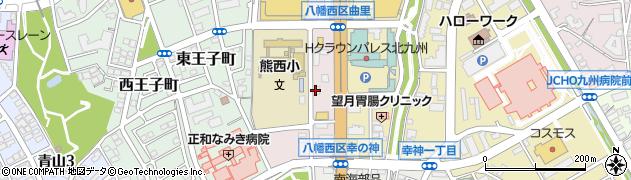 眼鏡市場 八幡黒崎店周辺の地図