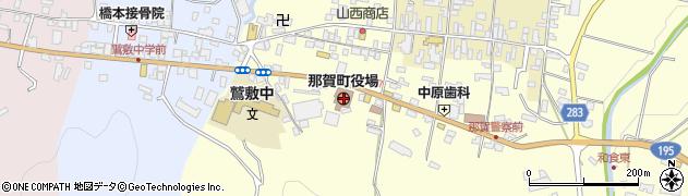 徳島県那賀郡那賀町周辺の地図