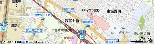 福岡県北九州市小倉北区若富士町周辺の地図