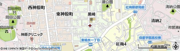 福岡県北九州市八幡西区南八千代町周辺の地図