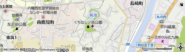 福岡県北九州市八幡西区東折尾町周辺の地図